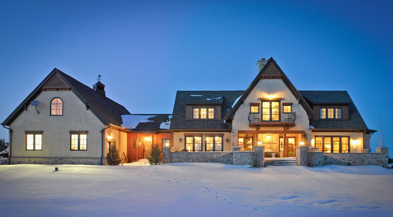 Country Lake Home